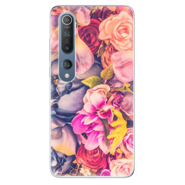 Odolné silikonové pouzdro iSaprio - Beauty Flowers - Xiaomi Mi 10 / Mi 10 Pro