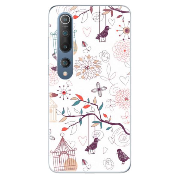 Odolné silikonové pouzdro iSaprio - Birds - Xiaomi Mi 10 / Mi 10 Pro