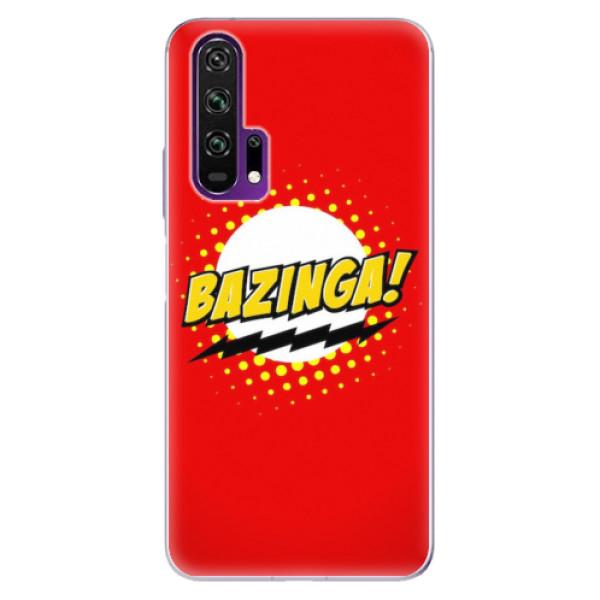 Odolné silikonové pouzdro iSaprio - Bazinga 01 - Honor 20 Pro