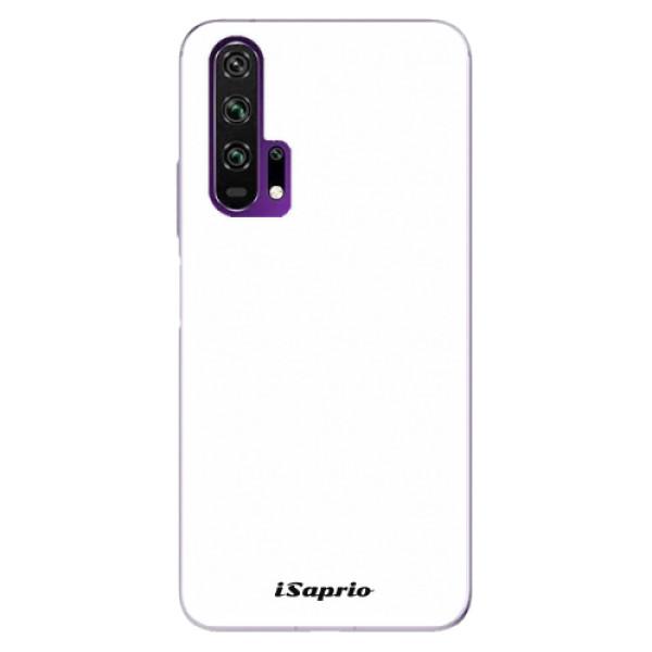 Odolné silikonové pouzdro iSaprio - 4Pure - bílý - Honor 20 Pro