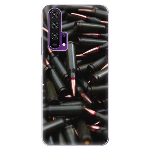 Odolné silikonové pouzdro iSaprio - Black Bullet - Honor 20 Pro