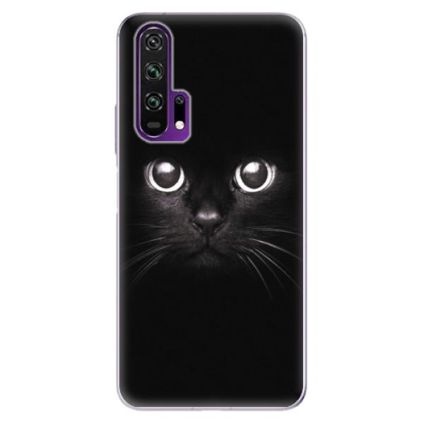 Odolné silikonové pouzdro iSaprio - Black Cat - Honor 20 Pro
