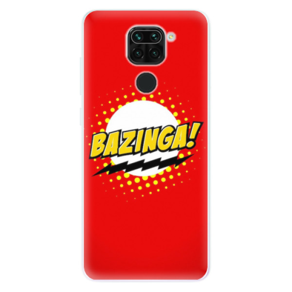 Odolné silikonové pouzdro iSaprio - Bazinga 01 - Xiaomi Redmi Note 9