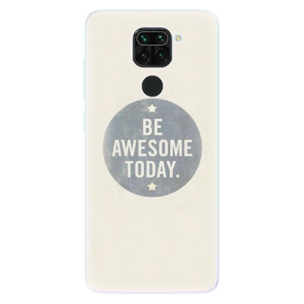 Odolné silikonové pouzdro iSaprio - Awesome 02 - Xiaomi Redmi Note 9