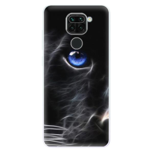 Odolné silikonové pouzdro iSaprio - Black Puma - Xiaomi Redmi Note 9