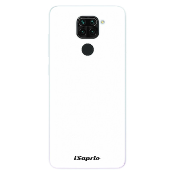 Odolné silikonové pouzdro iSaprio - 4Pure - bílý - Xiaomi Redmi Note 9