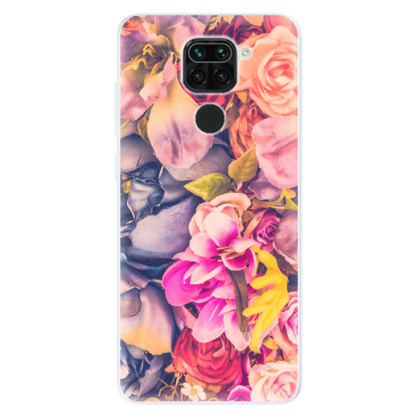 Odolné silikonové pouzdro iSaprio - Beauty Flowers - Xiaomi Redmi Note 9
