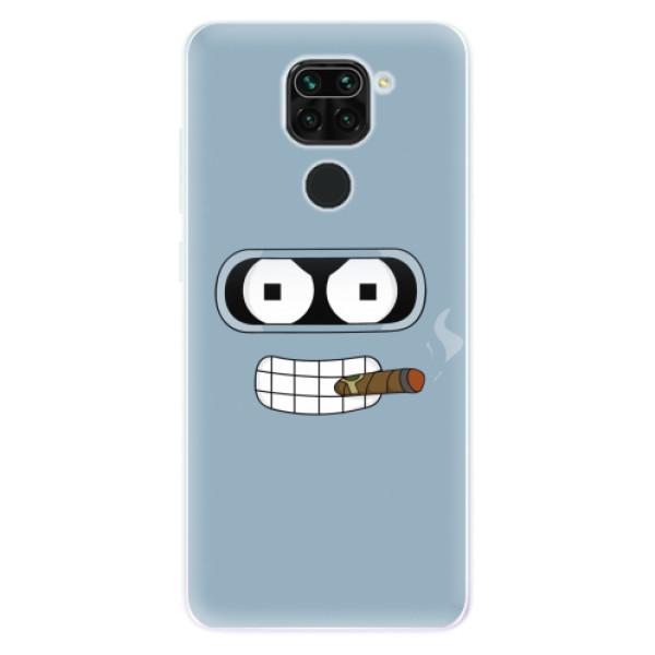 Odolné silikonové pouzdro iSaprio - Bender - Xiaomi Redmi Note 9