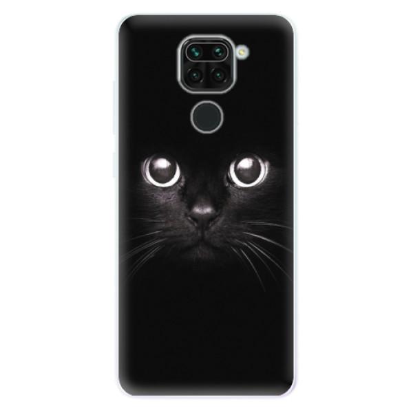 Odolné silikonové pouzdro iSaprio - Black Cat - Xiaomi Redmi Note 9