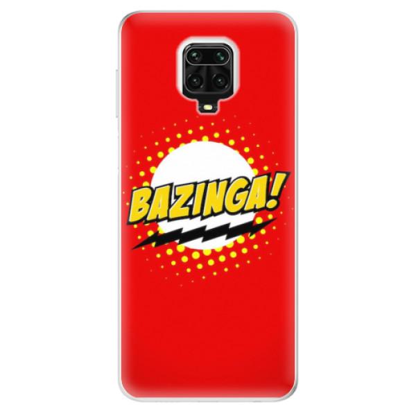 Odolné silikonové pouzdro iSaprio - Bazinga 01 - Xiaomi Redmi Note 9 Pro / Note 9S