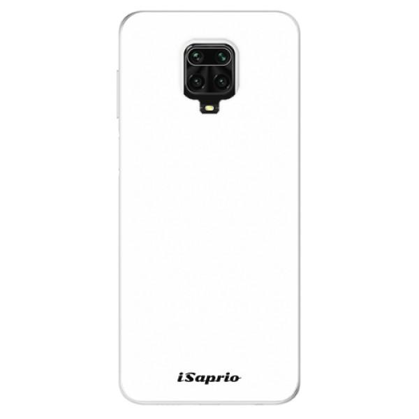 Odolné silikonové pouzdro iSaprio - 4Pure - bílý - Xiaomi Redmi Note 9 Pro / Note 9S