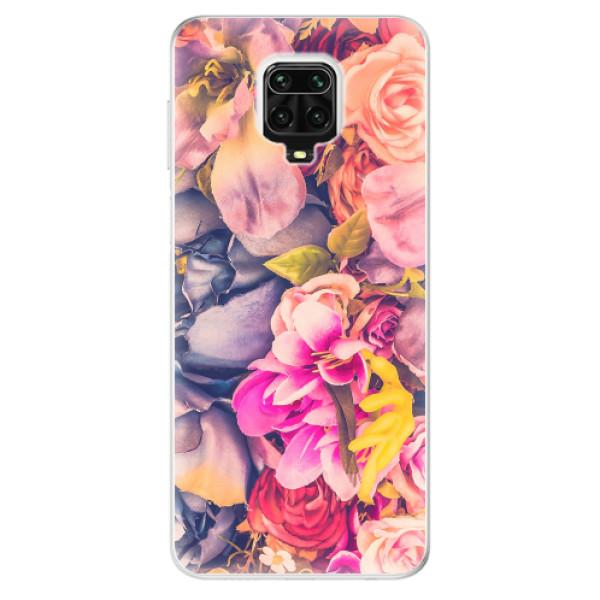 Odolné silikonové pouzdro iSaprio - Beauty Flowers - Xiaomi Redmi Note 9 Pro / Note 9S