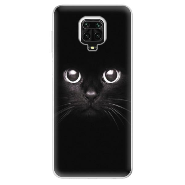 Odolné silikonové pouzdro iSaprio - Black Cat - Xiaomi Redmi Note 9 Pro / Note 9S
