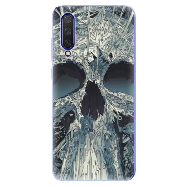 Odolné silikonové pouzdro iSaprio - Abstract Skull - Xiaomi Mi 9 Lite