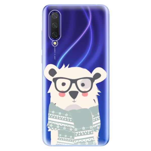 Odolné silikonové pouzdro iSaprio - Bear with Scarf - Xiaomi Mi 9 Lite