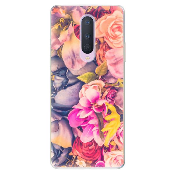 Odolné silikonové pouzdro iSaprio - Beauty Flowers - OnePlus 8