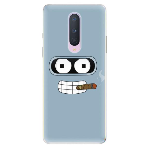 Odolné silikonové pouzdro iSaprio - Bender - OnePlus 8