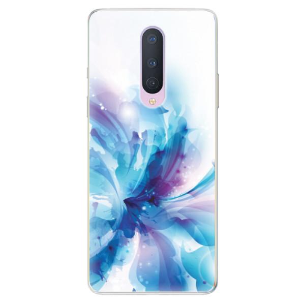 Odolné silikonové pouzdro iSaprio - Abstract Flower - OnePlus 8
