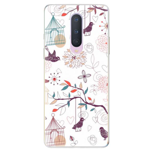 Odolné silikonové pouzdro iSaprio - Birds - OnePlus 8