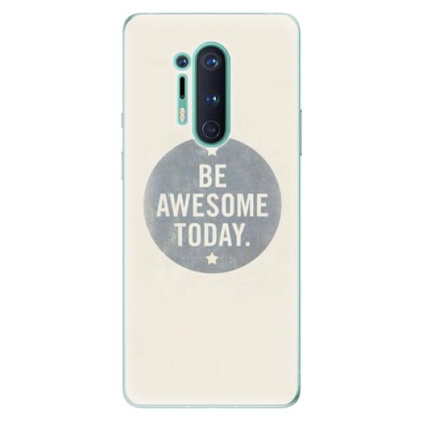 Odolné silikonové pouzdro iSaprio - Awesome 02 - OnePlus 8 Pro