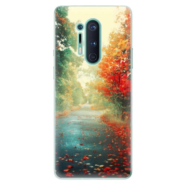 Odolné silikonové pouzdro iSaprio - Autumn 03 - OnePlus 8 Pro