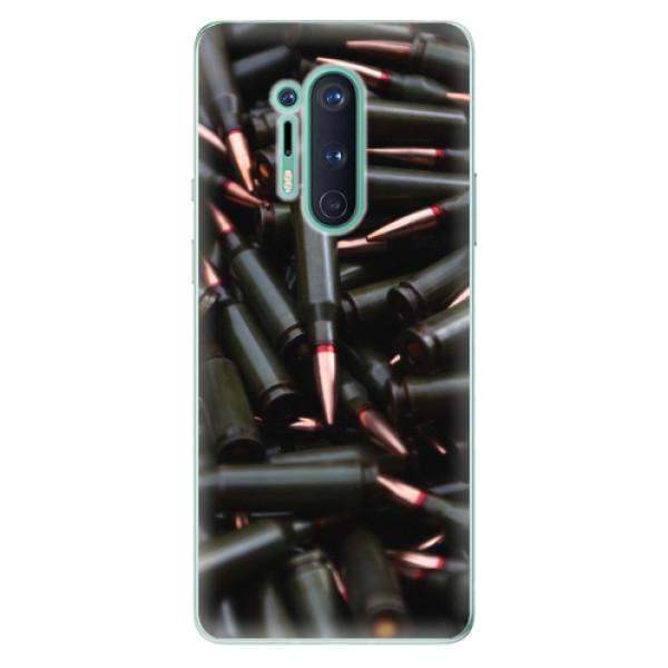 Odolné silikonové pouzdro iSaprio - Black Bullet - OnePlus 8 Pro