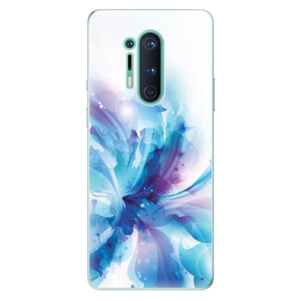 Odolné silikonové pouzdro iSaprio - Abstract Flower - OnePlus 8 Pro