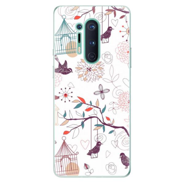 Odolné silikonové pouzdro iSaprio - Birds - OnePlus 8 Pro