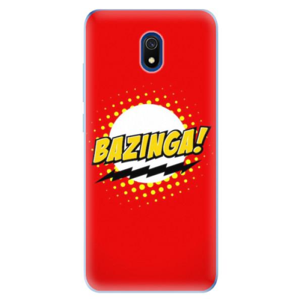 Odolné silikonové pouzdro iSaprio - Bazinga 01 - Xiaomi Redmi 8A