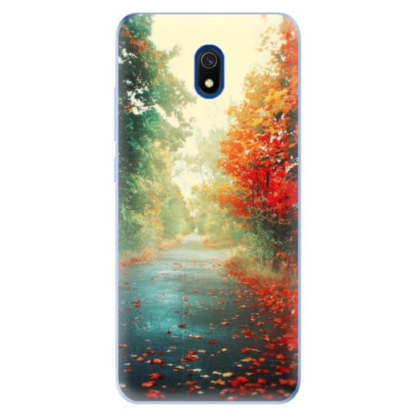 Odolné silikonové pouzdro iSaprio - Autumn 03 - Xiaomi Redmi 8A