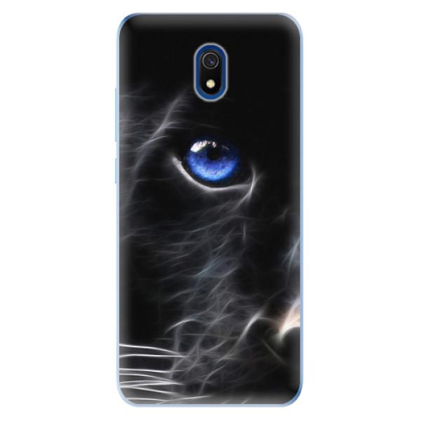 Odolné silikonové pouzdro iSaprio - Black Puma - Xiaomi Redmi 8A