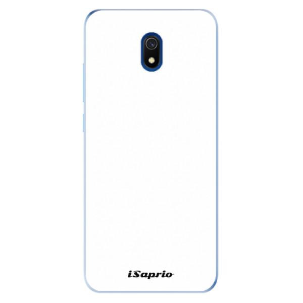 Odolné silikonové pouzdro iSaprio - 4Pure - bílý - Xiaomi Redmi 8A