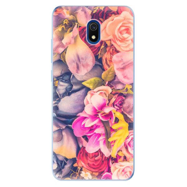 Odolné silikonové pouzdro iSaprio - Beauty Flowers - Xiaomi Redmi 8A