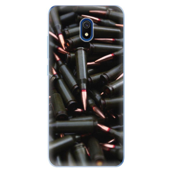 Odolné silikonové pouzdro iSaprio - Black Bullet - Xiaomi Redmi 8A