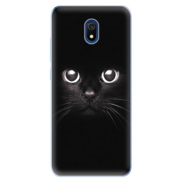Odolné silikonové pouzdro iSaprio - Black Cat - Xiaomi Redmi 8A