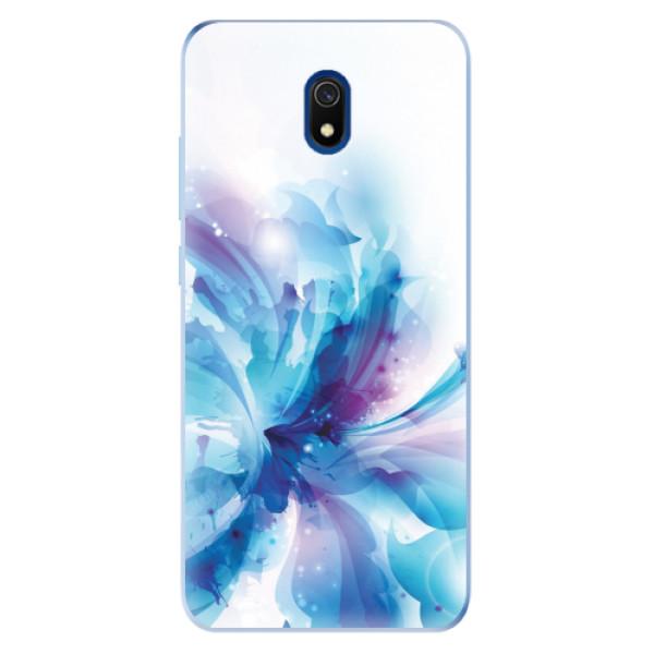 Odolné silikonové pouzdro iSaprio - Abstract Flower - Xiaomi Redmi 8A