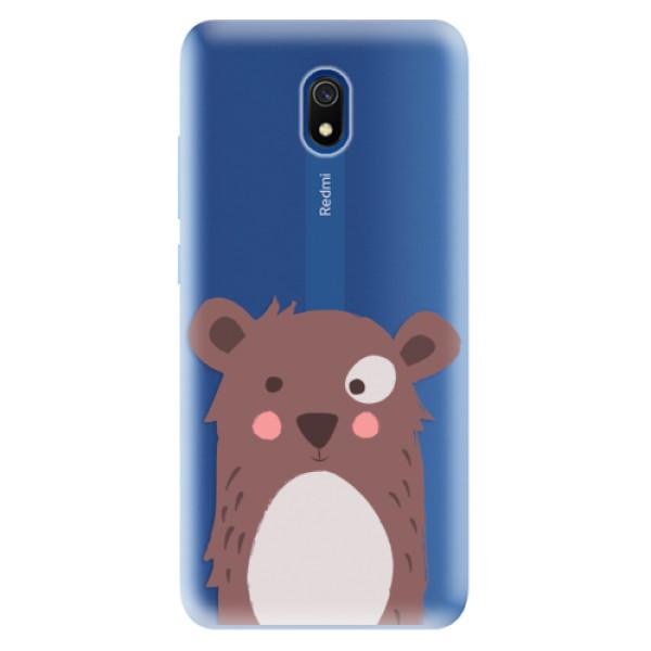 Odolné silikonové pouzdro iSaprio - Brown Bear - Xiaomi Redmi 8A