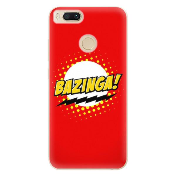 Odolné silikonové pouzdro iSaprio - Bazinga 01 - Xiaomi Mi A1