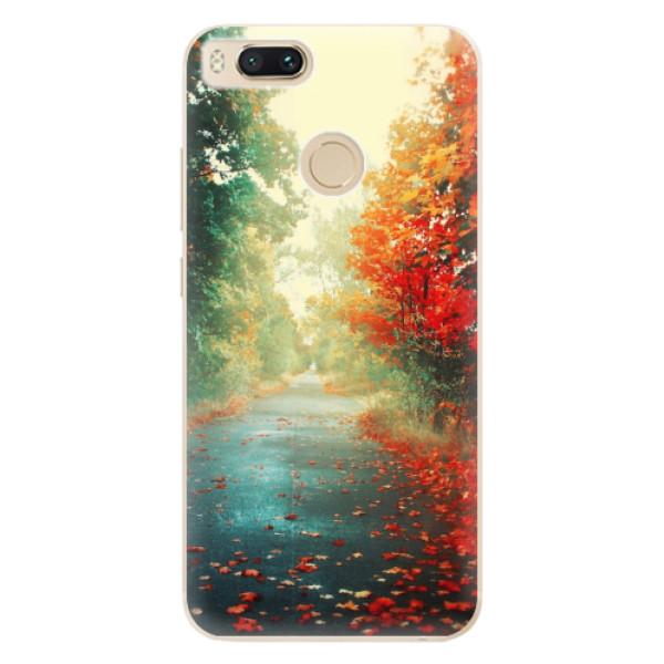 Odolné silikonové pouzdro iSaprio - Autumn 03 - Xiaomi Mi A1