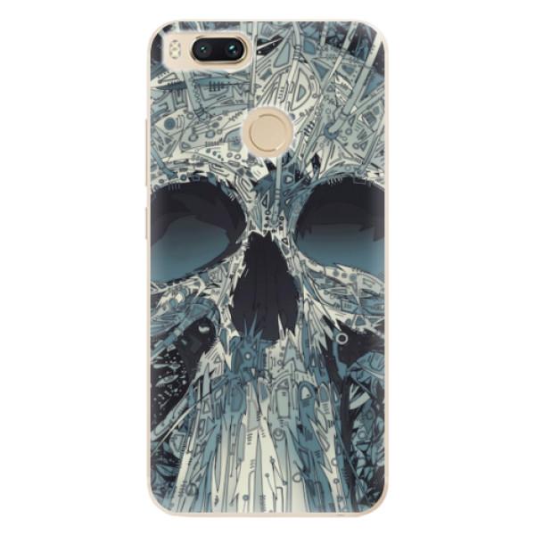 Odolné silikonové pouzdro iSaprio - Abstract Skull - Xiaomi Mi A1