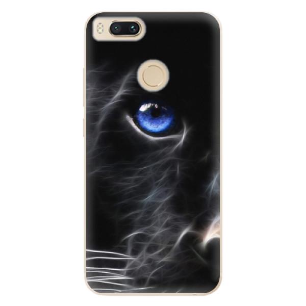Odolné silikonové pouzdro iSaprio - Black Puma - Xiaomi Mi A1