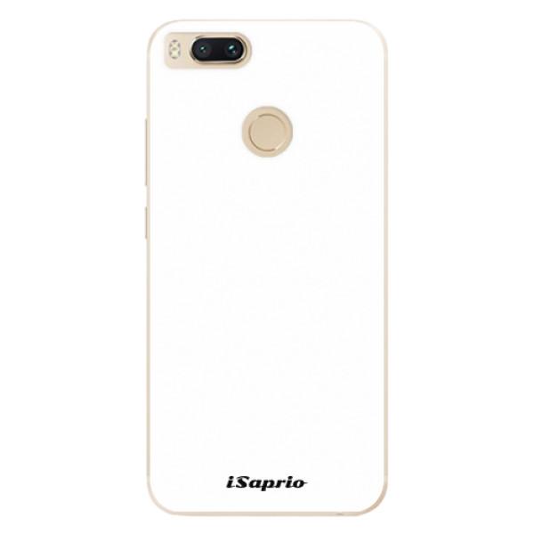 Odolné silikonové pouzdro iSaprio - 4Pure - bílý - Xiaomi Mi A1