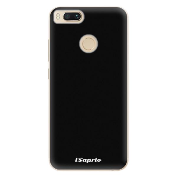 Odolné silikonové pouzdro iSaprio - 4Pure - černý - Xiaomi Mi A1