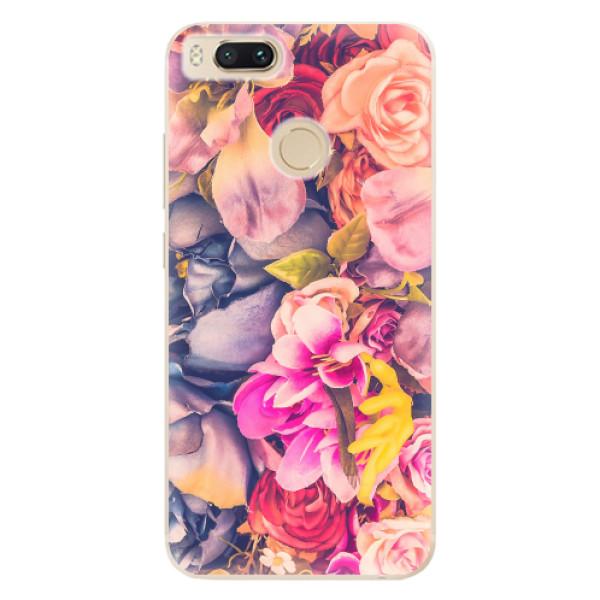 Odolné silikonové pouzdro iSaprio - Beauty Flowers - Xiaomi Mi A1