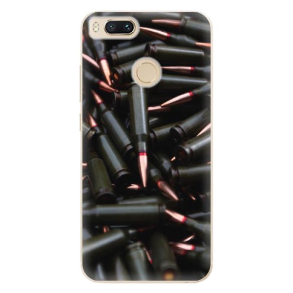 Odolné silikonové pouzdro iSaprio - Black Bullet - Xiaomi Mi A1