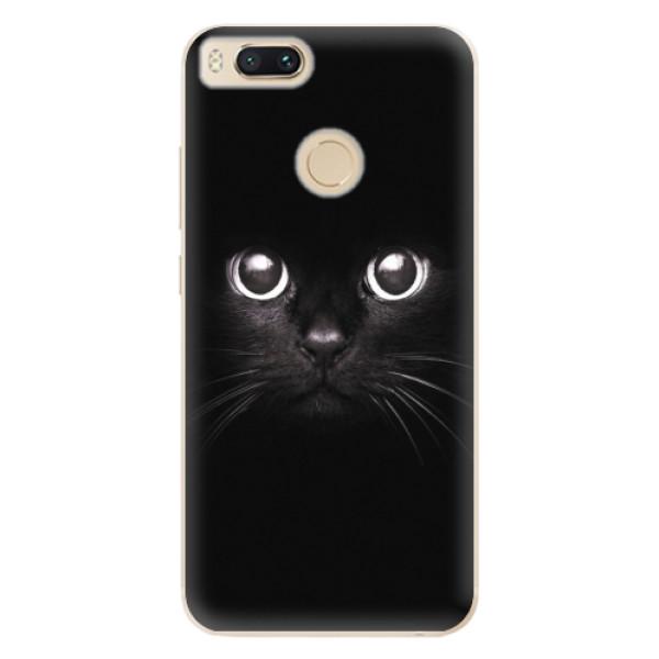 Odolné silikonové pouzdro iSaprio - Black Cat - Xiaomi Mi A1