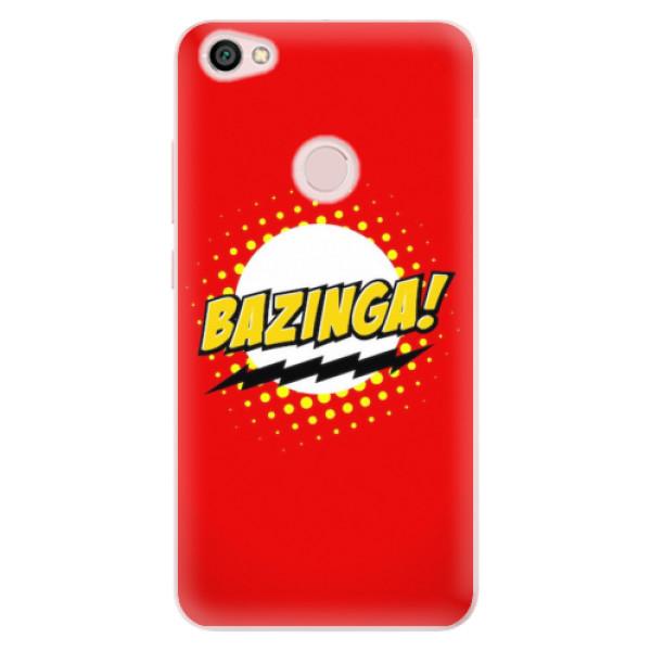 Odolné silikonové pouzdro iSaprio - Bazinga 01 - Xiaomi Redmi Note 5A / 5A Prime