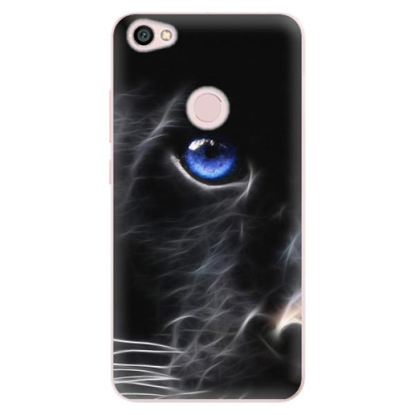 Odolné silikonové pouzdro iSaprio - Black Puma - Xiaomi Redmi Note 5A / 5A Prime