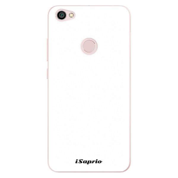 Odolné silikonové pouzdro iSaprio - 4Pure - bílý - Xiaomi Redmi Note 5A / 5A Prime