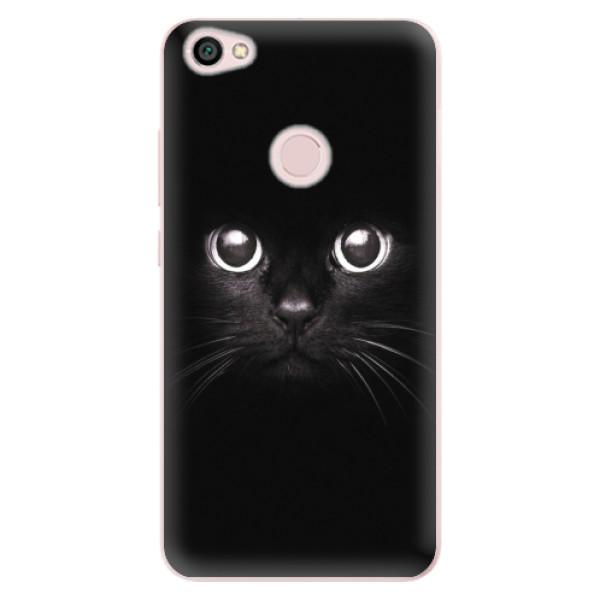 Odolné silikonové pouzdro iSaprio - Black Cat - Xiaomi Redmi Note 5A / 5A Prime